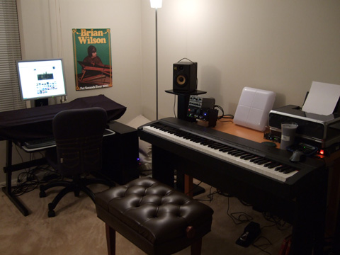 Admirable Bedroom Music Studio Home Studio Ideas Home Studio Dawg Blog Largest Home Design Picture Inspirations Pitcheantrous